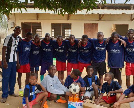 La squadra di calcio maschile