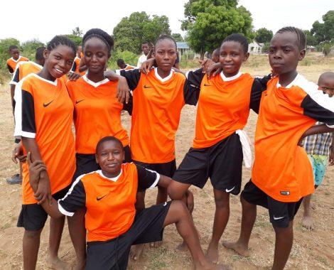 La squadra di calcio femminile
